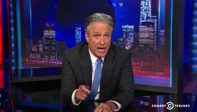 Jon announces the start date of his new career as non-host of The Daily Show.