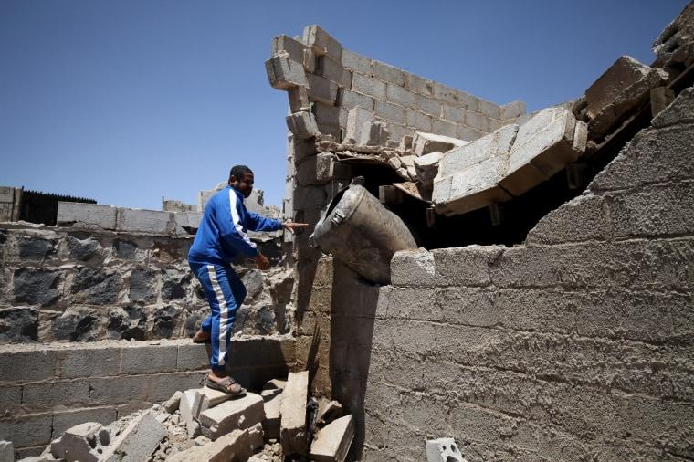 Image: Yemen strike