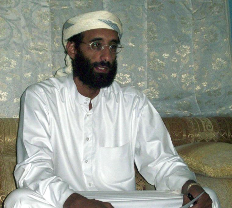 Imam Anwar al-Awlaki in Yemen in Oct. 2008.