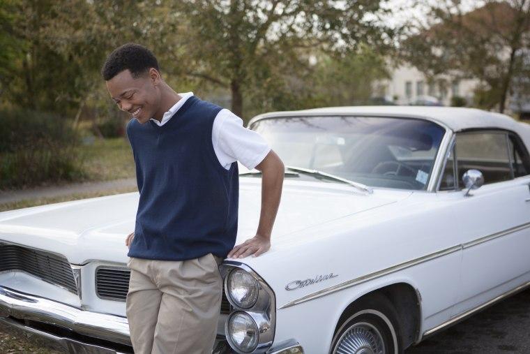 Julian Walker as Randy Rousseau in 'Blackbird.'