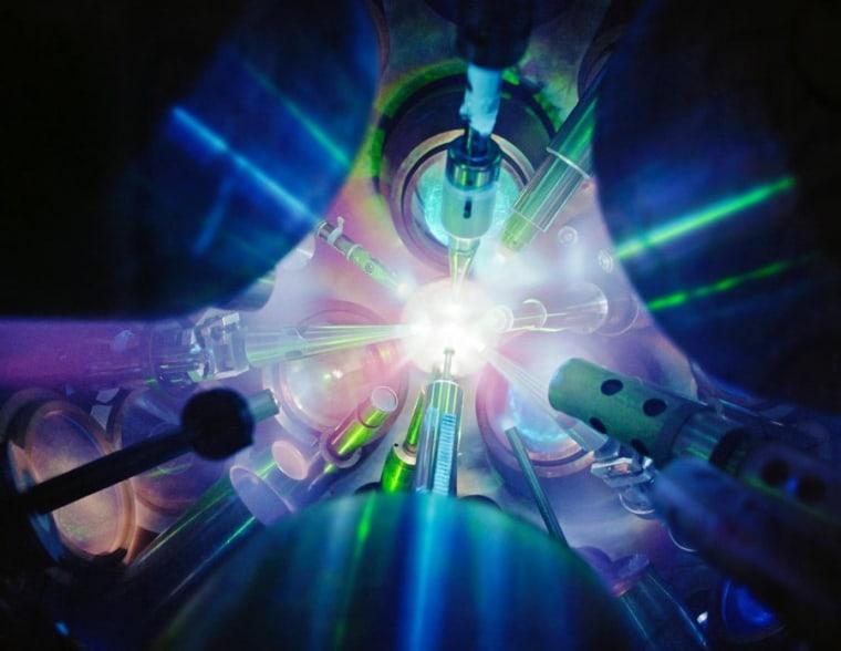 Image: Fusion reaction
