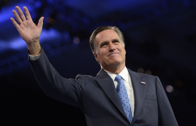Image: Reports say Romney not running for President