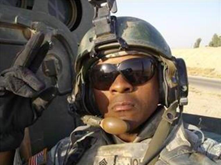 Image: Sgt. Randy Johnson in 2007