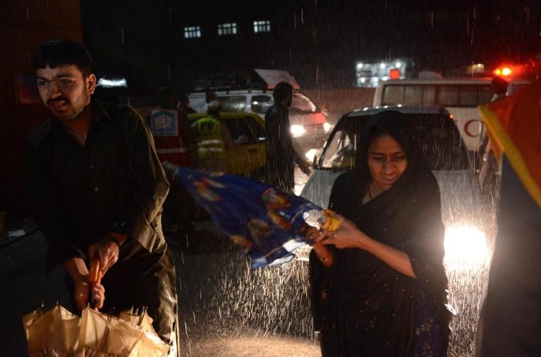 Image: PAKISTAN-NORTHWEST-WEATHER