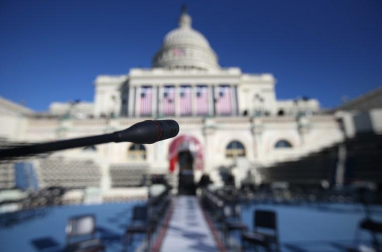 Image: Washington DC Prepares For Presidential Inauguration