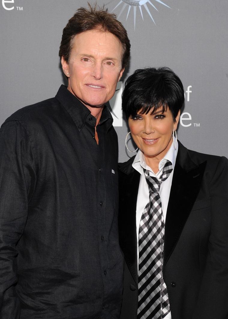 Bruce Jenner, Kris Kardashian