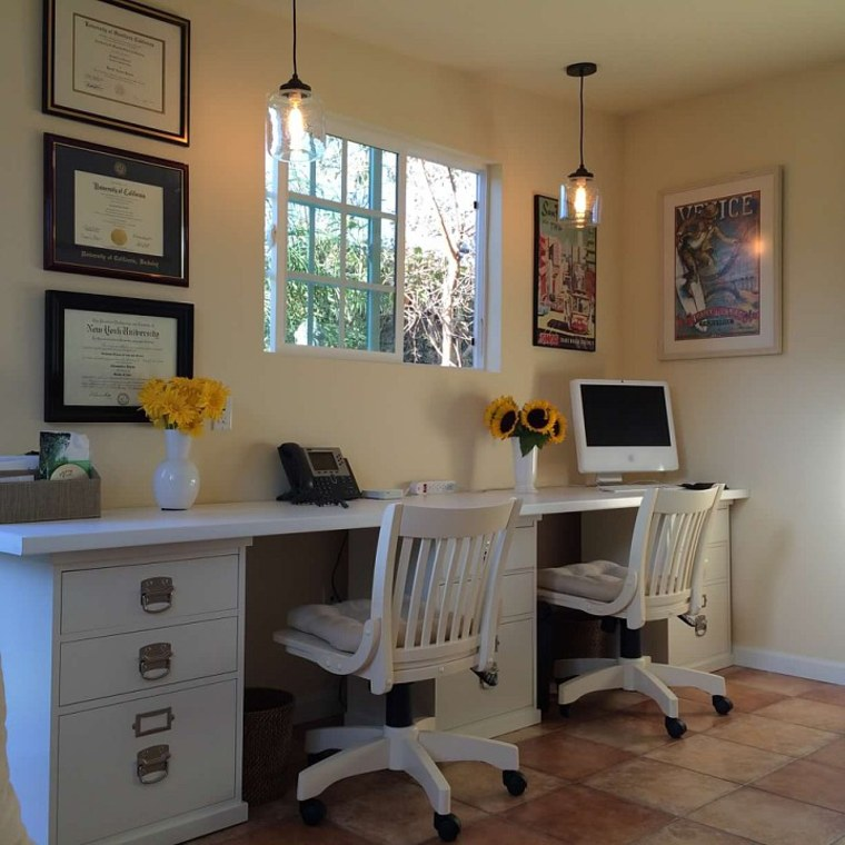 converting garage to office. Courtesy Of Alesandra Dubin Converting Garage To Office