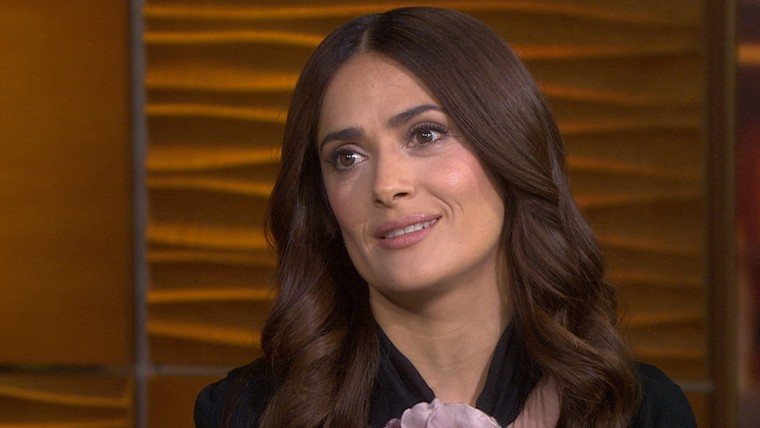Salma Hayek: 'The Prophet' is about 'things that bind us'