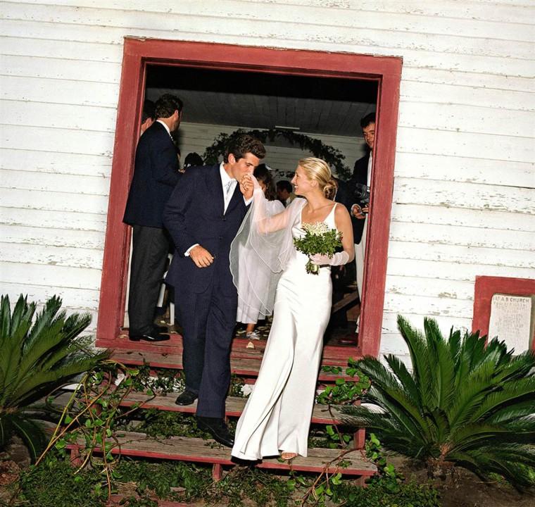 Carolyn Bessette, John F. Kennedy Jr. wedding
