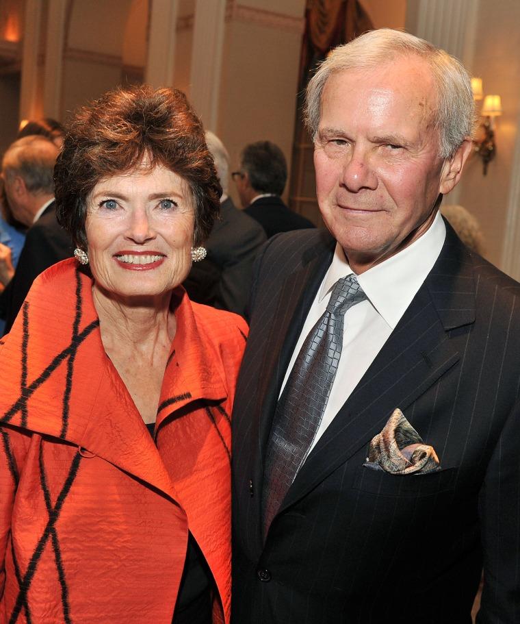 Tom and Meredith Brokaw