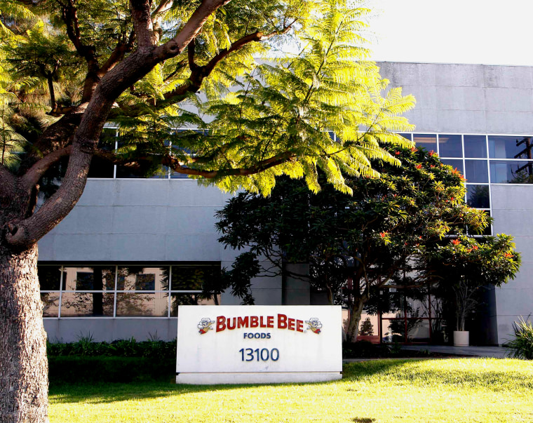 Image: The Bumble Bee tuna processing plant in Santa Fe Springs. California.