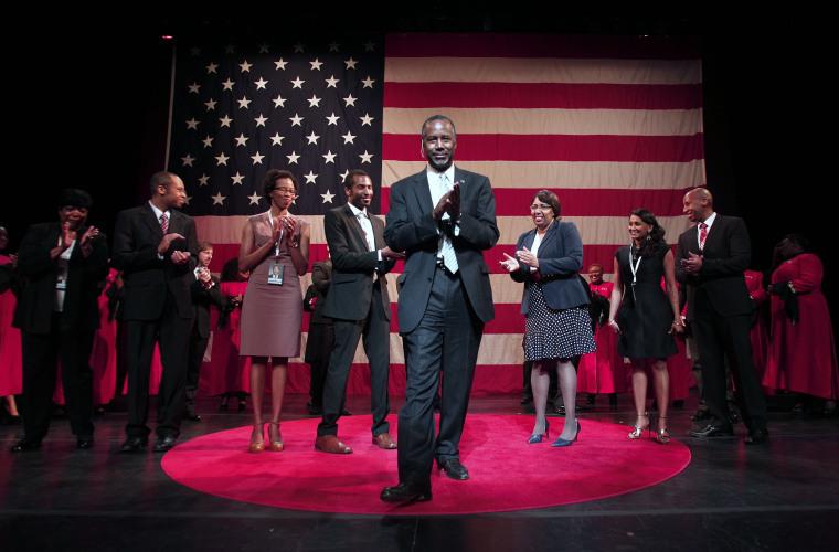Image: Ben Carson Makes Announcement About Seeking Republican Presidential Nomination