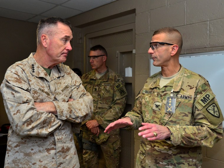 IMAGE: Marine Gen. Joseph Dunford in Afghanistan