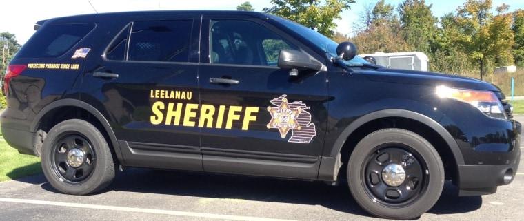 Leelanau County Sheriff's vehicle