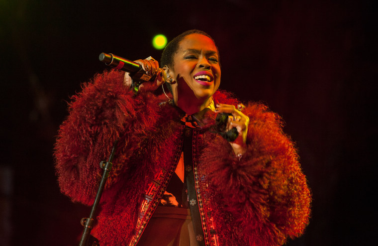 Lauryn Hill performs at the Voodoo Music Experience in New Orleans in 2014.