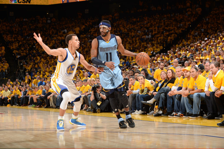 Image: Memphis Grizzlies v Golden State Warriors - Game Two