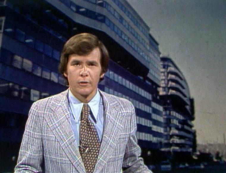 Tom Brokaw in 1973.