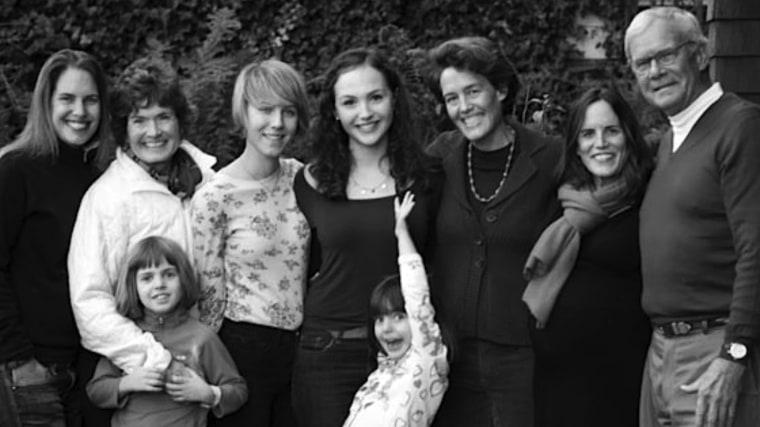 The Brokaw family