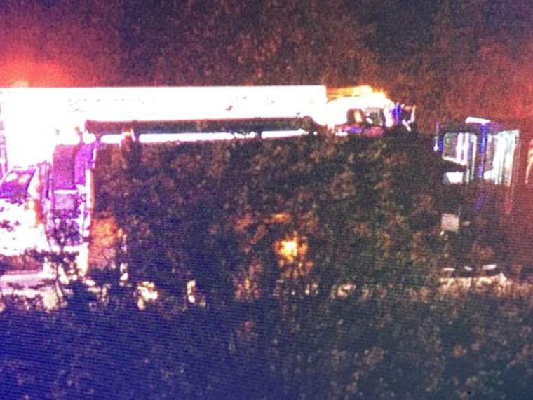 Image: Crash scene in Tennessee