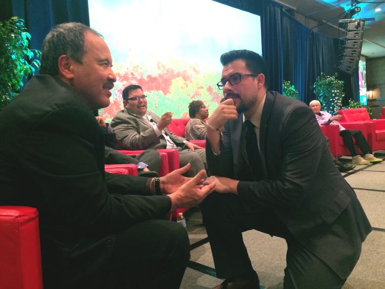 Image: Luis  Acosta and Ruben Sanchez