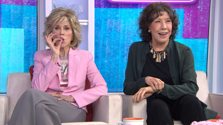 "Jane Fonda and Lily Tomlin on TODAY to talk about ""Grace and Frankie"""