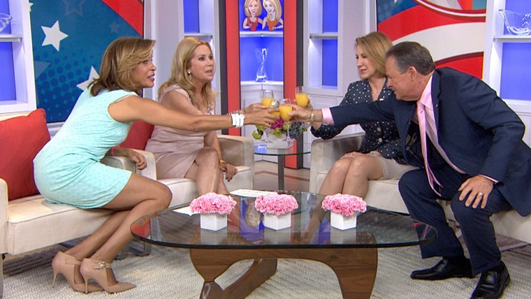 Presidential candidtae Carly Fiorina appears on TODAY with her husband Frank Fiorina on May 5, 2015.