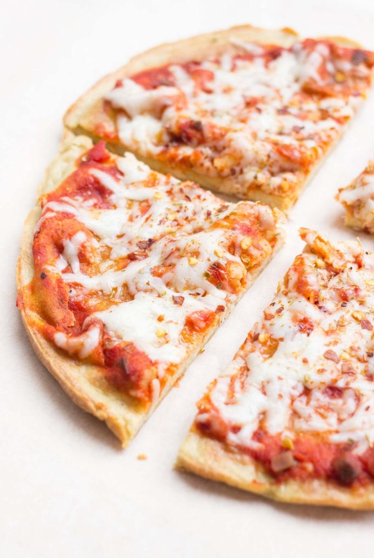 Ultimate quinoa pizza crust