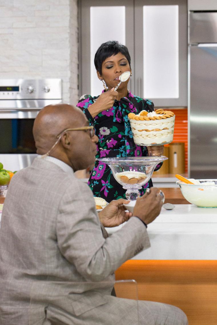 Tamron Hall's family recipe for banana pudding