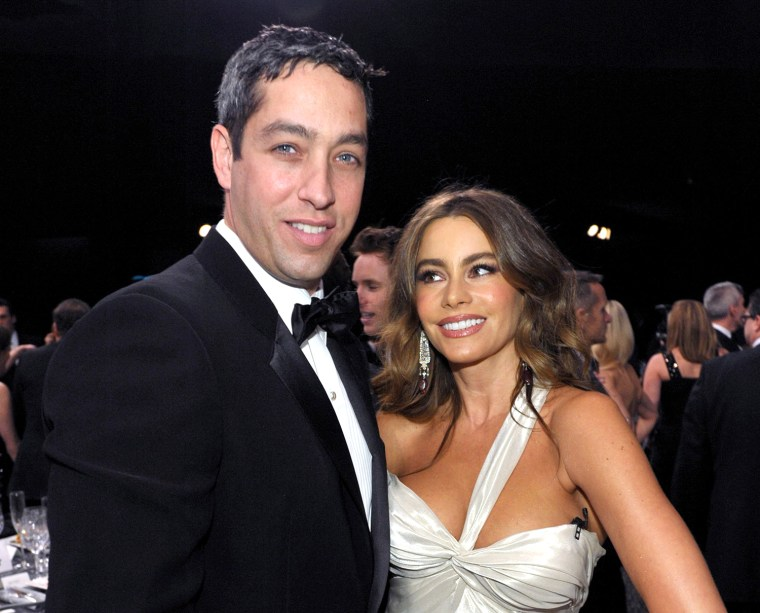 Nick Loeb with Sofia Vergara