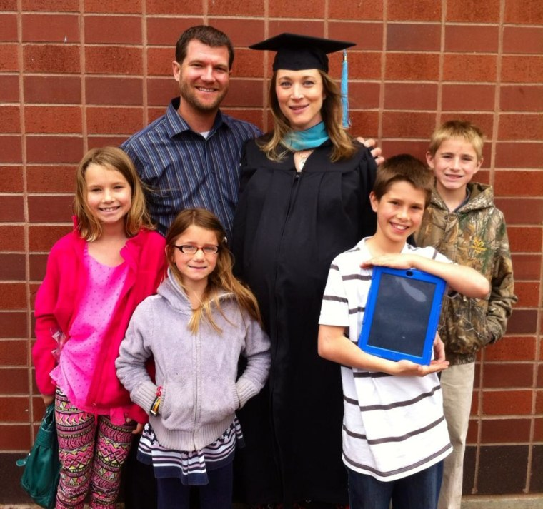 Jessica Ronne received her master's degree from Grand Valley State University last month.