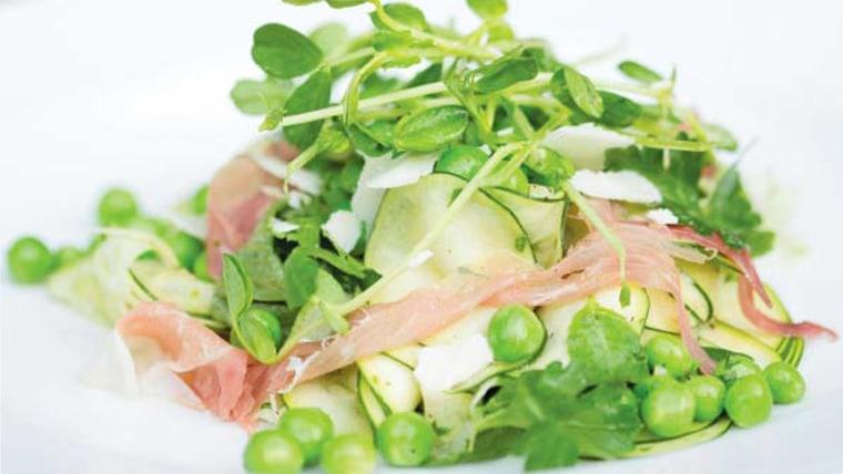 Spring Pea and Prosciutto Salad