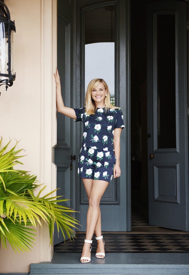Reese Witherspoon Draper James fashion line.