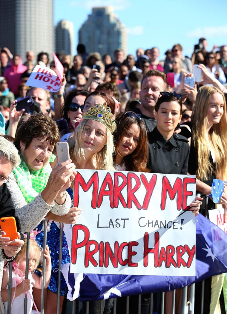 Prince Harry Visits Sydney