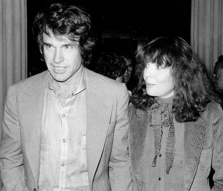 Actor Warren Beatty and actress Diane Keaton, 1978