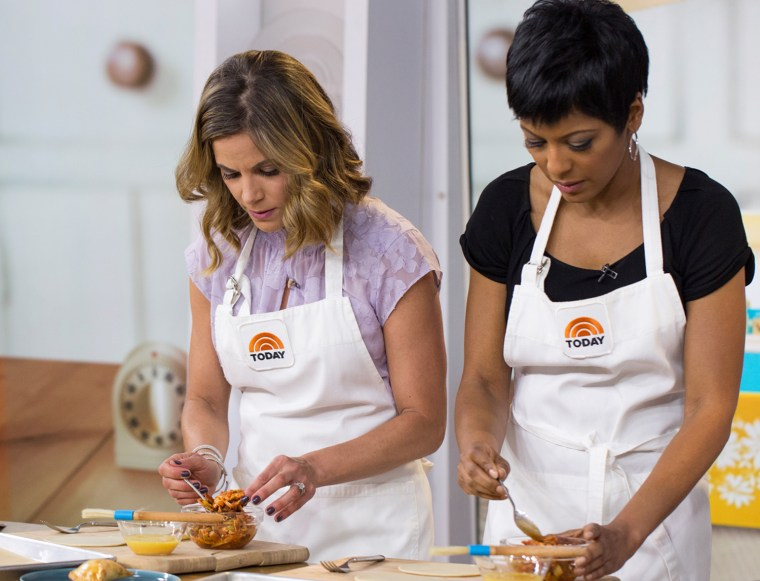 Natalie Morales shares her mother's empanadas recipe