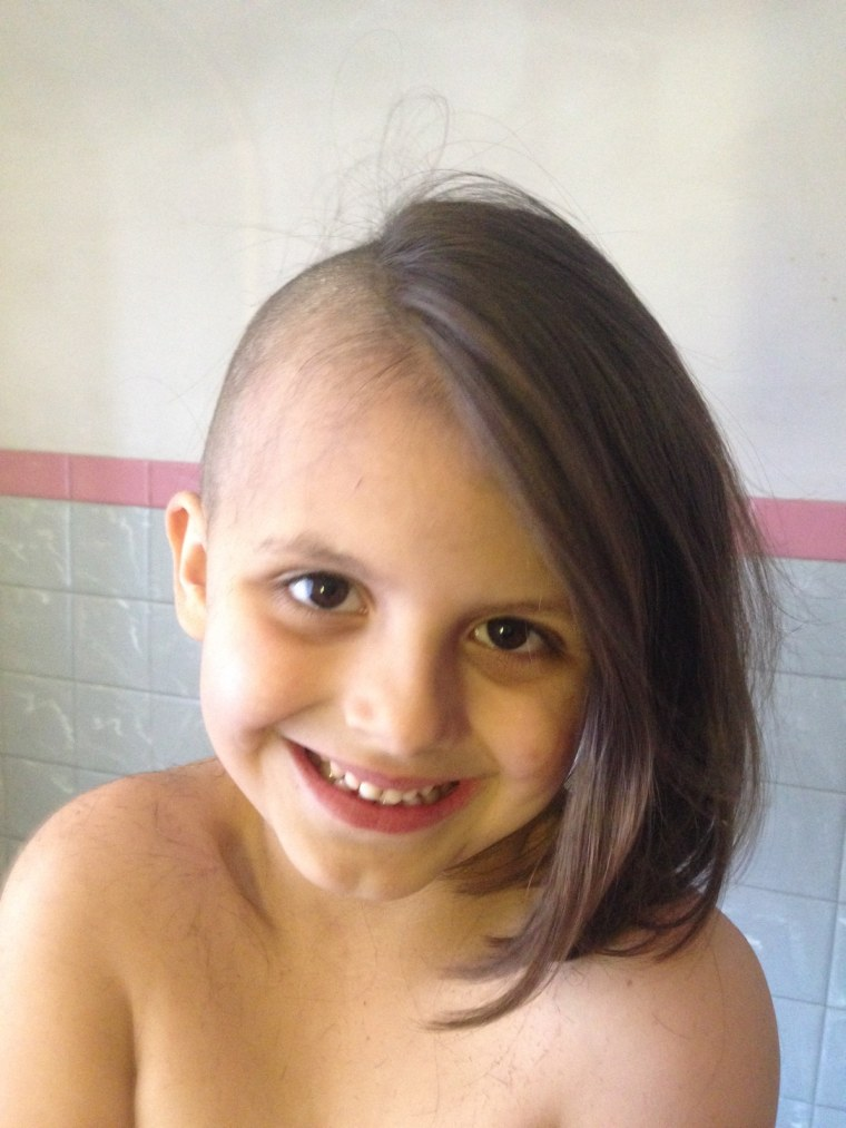 6-year-old Aellyn Stannard told her parents she wanted to shave her head because she liked the look, prompting a parenting dilemma for her mom.