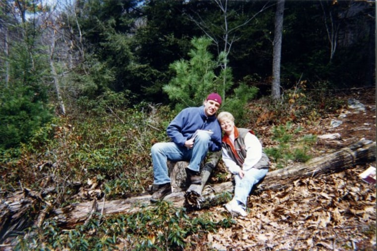 Joshua Straub and his mom love their camping adventures.