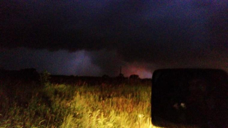 Image: Tornado near Van, Texas