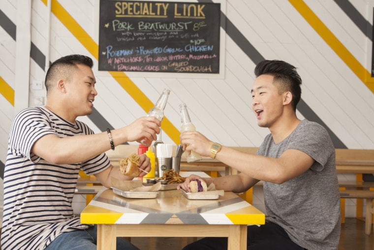 The Fung brothers have turned their love of food into viral videos on YouTube, and now, a reality television show.