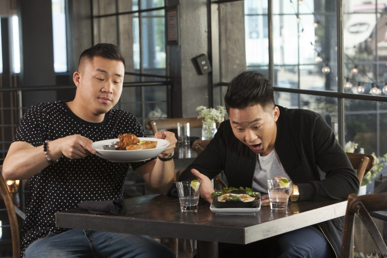 "David and Andrew Fung focus much of their YouTube content on the experience of being Asian American, but are hesitant to be seen as spokespeople for a community. ""We are just one of of the voices of Asian America,"" Andrew said."