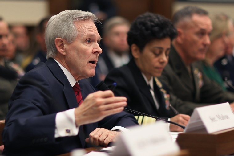 Image: Top Military Officials Testify To House Armed Services Committee On FY2016 Nat'l Defense Budget Request