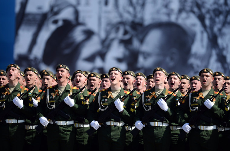 Image: Russia Commemorates 70th Anniversary Of Victory Day