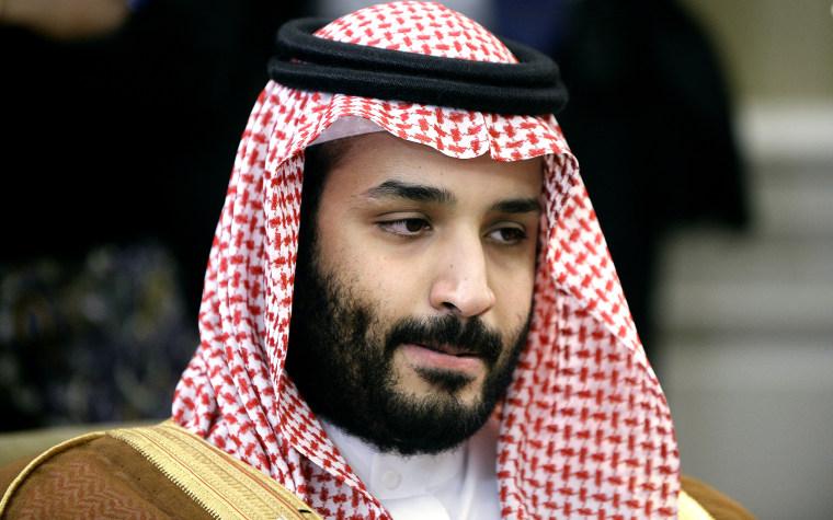 Image: Saudi Crown Prince Prince Mohammed Bin Nayef