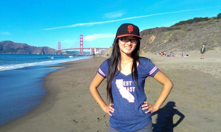 Tianyi Sheng in San Francisco.