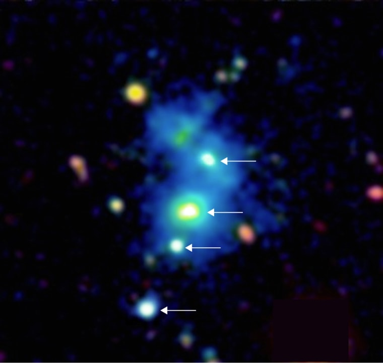 Astronomical Jackpot: Quasar Quartet Is Spotted for First Time