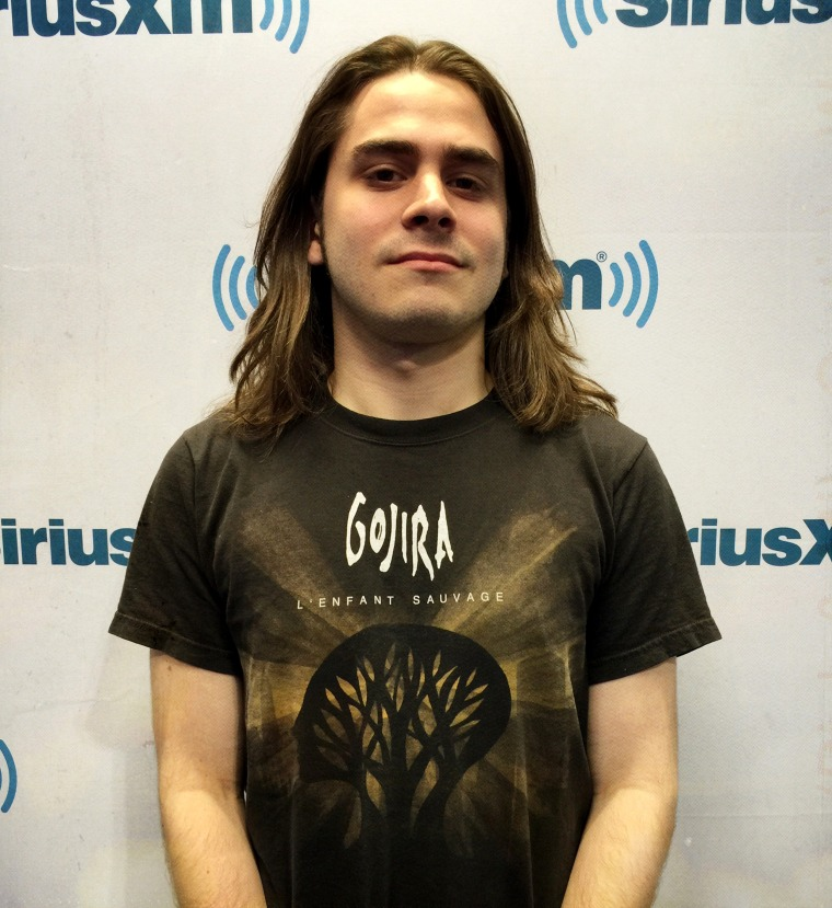 Josh Musto, a music student at New York City's New School, is an intern at SiriusXM radio.