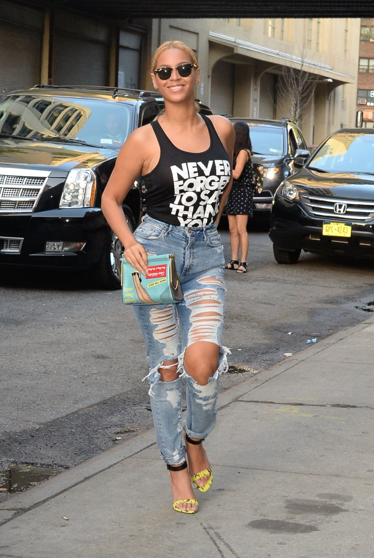 Image: Celebrity Sightings In New York City - May 11, 2015
