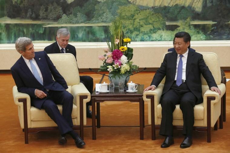 Image: U.S. Secretary of State John Kerry Visits China