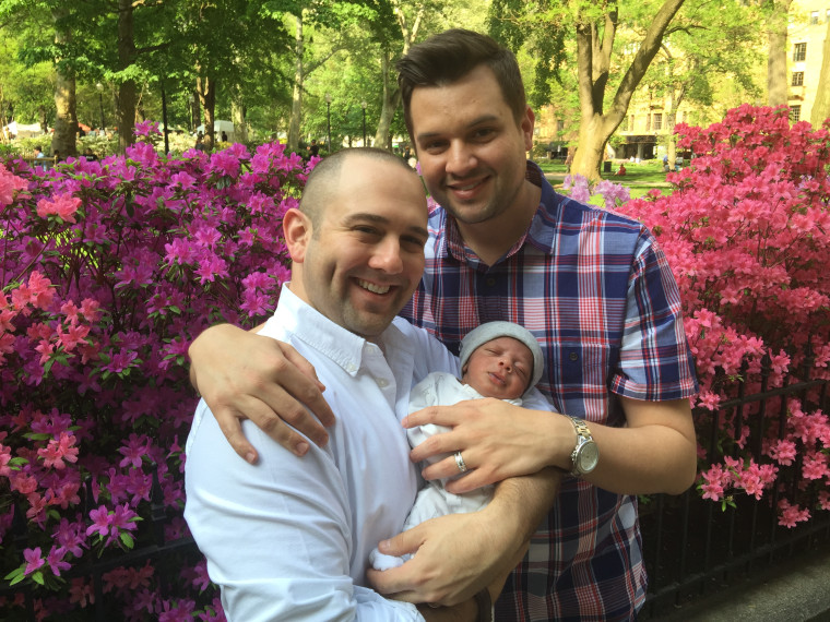 Joe Morales and Joey Famoso wanted to adopt a baby and got one after creating a viral music video.