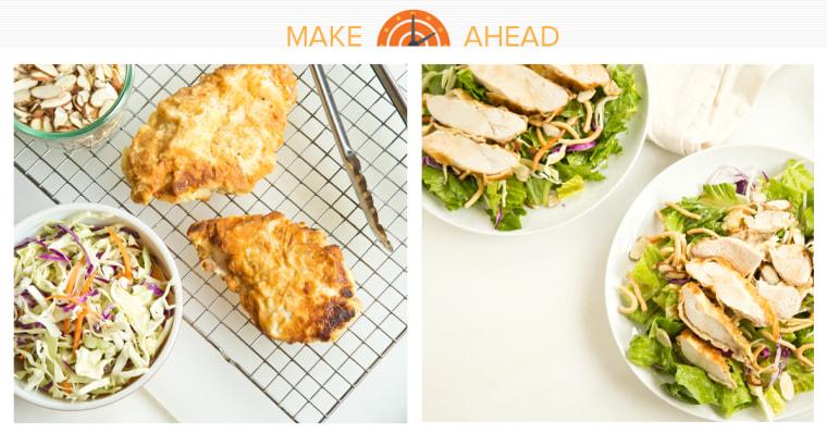 Make-Ahead Asian Chicken Salad recipe